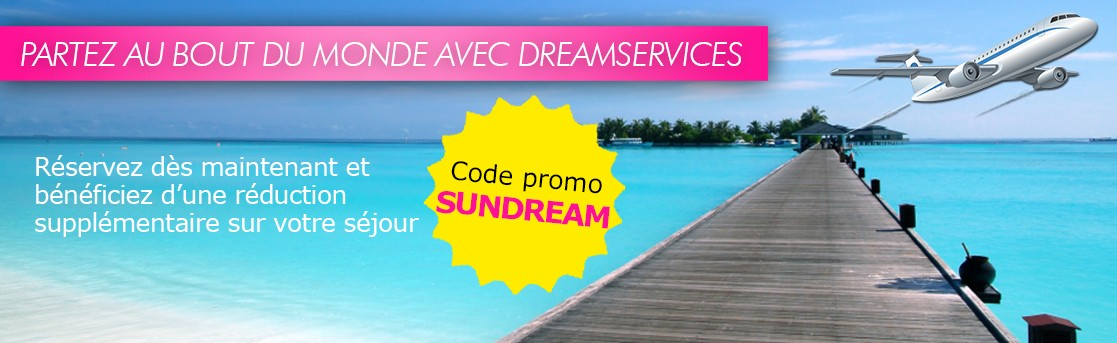 Voyages : code promo SUNDREAM